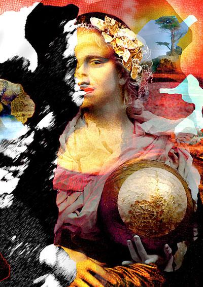 Stephanie Mackenzie, Mona Lisa vs Red, Theory Magazine